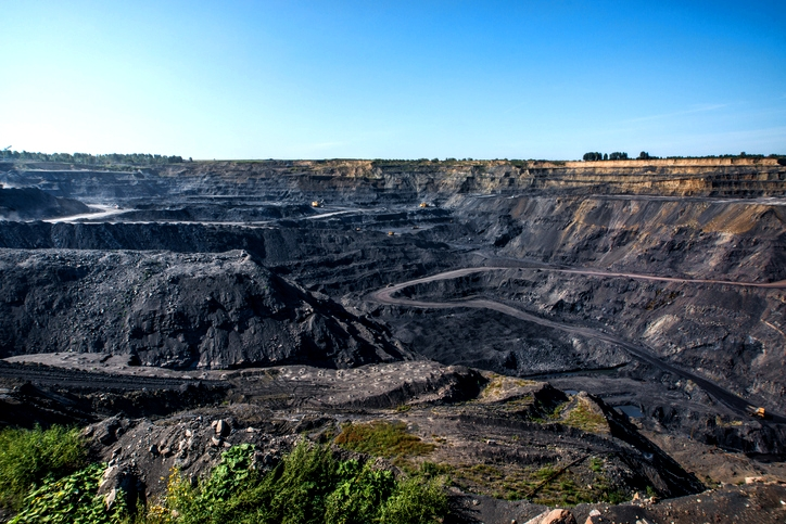 Image of mountaintop coal mining