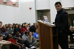 Immigration Activist Spell bounds Audience